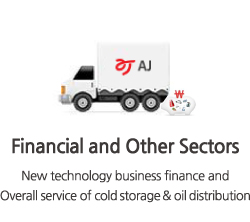 New technology business finance and Overall service of cold storage & oil distribution
