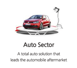 A total auto solution that leads the automobile aftermarket